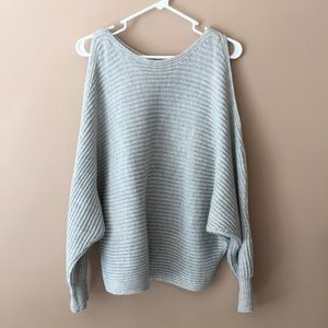 Daytrip grey dolman sweater. Worn once.